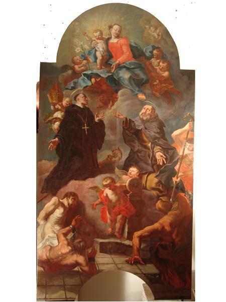 Altarbild Branzoll - nachher